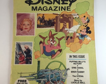 Vintage Disney Magazine March 1976 Issue