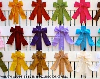 Wreath Hanger -  Wreath Wraps - Wreath Holder - Wreath Wrap