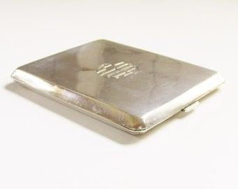Vintage Art Deco Sterling Cigarette Case 1920s Birks