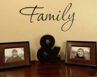 Family - Vinyl Wall Decal
