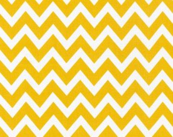 Remix - Summer Chevron Yellow by Ann Kelle from Robert Kaufman