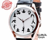 Yoga Watch. Yoga Jewerly Watches. Gifts for Yoga Lovers. Men's Watch. Women's Watch. Anniversary Gifts. Best Friend Gift- FREE SHIPPING
