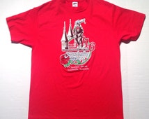 1990 Kentucky Derby t-shirt, fits like a large