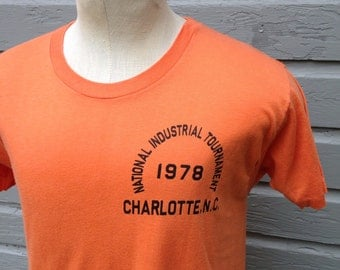 1978 National Industrial Tournament t-shirt, fits like a medium