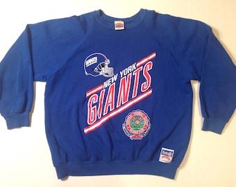 Early 1990's New York Giants sweatshirt, XL