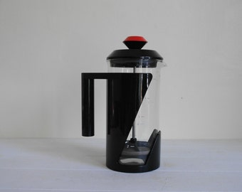 Vintage Emsa Coffee Profi Pot in Black and Red