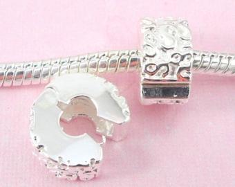 S stopper beads