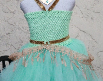 Jasmine Dress- Disney Princess Dress - Jasmine princess costume - Princess Jasmine Costume
