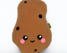 Potato kawaii plushie novelty pillow cushion food vegetable fries chips