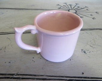 Baby Girl Cup Ceramic Cup Haeger Ceramics Cup Baby Gift New Baby Gift Collectible Cup Collectible Ceramics