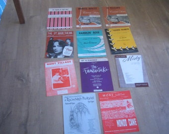 Vintage Sheet Music for the Organ/Hammond Organ (11)