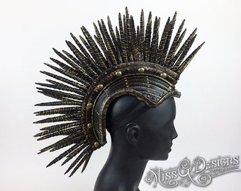 MADE TO ORDER Mohawk Headdress Headpiece