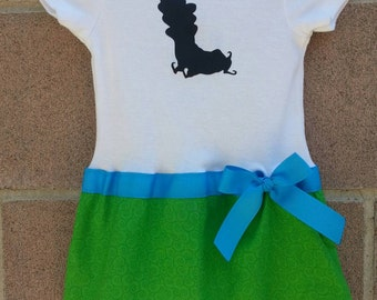 Caterpillar inspired baby girl outfit Alice in Wonderland