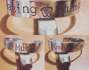 amazing mummy... cuff bracelet...