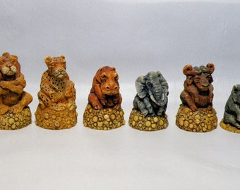 New African Safari (2)    LATEX CHESS MOULDS/Molds (9)