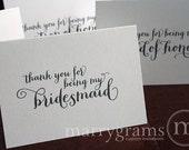 CUSTOM // Wedding day cards