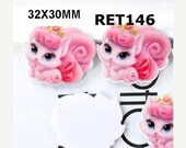 SALE Aristocat Planar Resin Cabochons Flatback Flat Back Scrapbooking Hair Bow Centers Card Making Crafts Embellishments