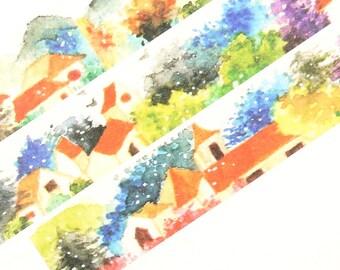 Country House - Japanese Washi Masking Tape - 20mm Wide - 11 Yards