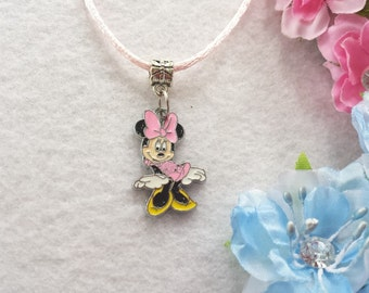 10 Minnie Mouse Necklaces Party Favors.