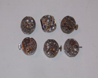 6 Womens Jeweled Watch Movements