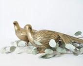 Vintage Brass Pheasants Mid Century, Brass Birds, Vintage Brass Decor, Vintage Brass, Vintage Brass Birds
