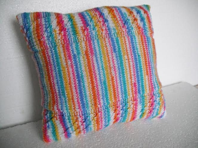 Decorative Pillow Cable Knitted Pillow Cover Throw By