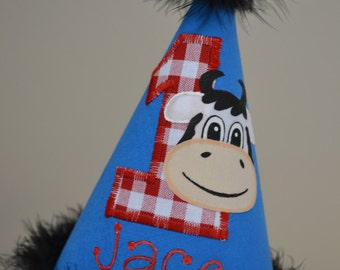 Specialty CUSTOM MADE to match your Theme  Party Hat Just For You.