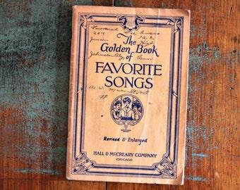 vintage song book favorite songs