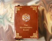 Neverending Story Leather Book Bag Brown Leather Book Purse