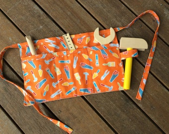 Kids' Tool Belt (tools not included) - Orange Tools Design