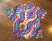 Adult 2XL Tie Die T-shirt