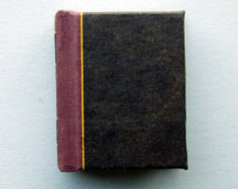 Dolls House Miniature Bleak House Classic Bound Book