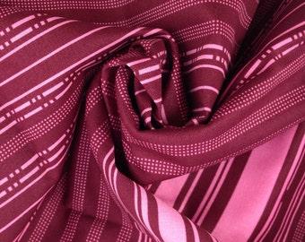 SALE FABRIC, Anna Maria Horner, Innocent Crush, Fabric By The Yard, Home Dec Fabric, Decorator Fabric, Maroon Fabric