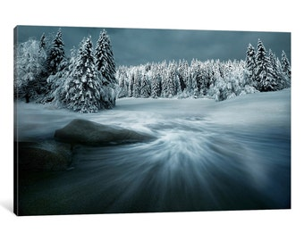iCanvas Just A Dream Gallery Wrapped Canvas Art Print by Arnaud Maupetit