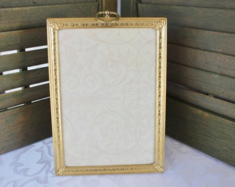 Gold Metal Frame 5 by 7
