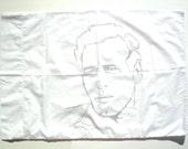 Vintage Paul Newman Pillowcase