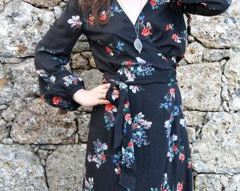 Boho Kimono Style Maxi Cotton dress