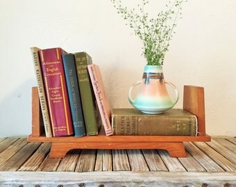 Vintage Pine Book Stand Holder