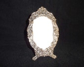 Gorgeous Vintage Silver Metal Picture Frame
