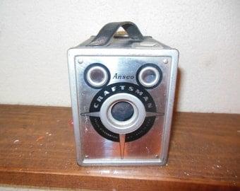 Vintage Ansco Craftsman Camera