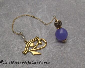 Egypt Agate Dowsing Pendulum (DP0319)
