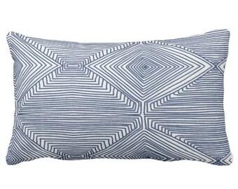 Indigo Pillow,Nate Berkus Pillow,Indigo Pillows,Throw Pillows Indigo,Chair Cushion Indigo,Blue Decorative Pillows for Couch,Couch Pillows