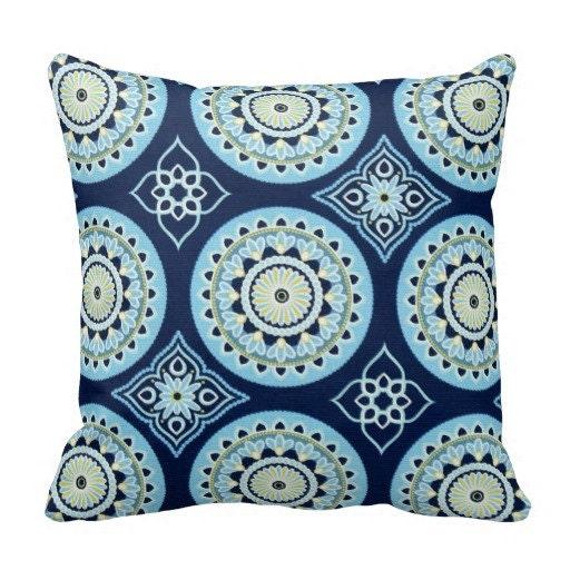 Outdoor Pillows Blue Outdoor Pillows Navy Throw by