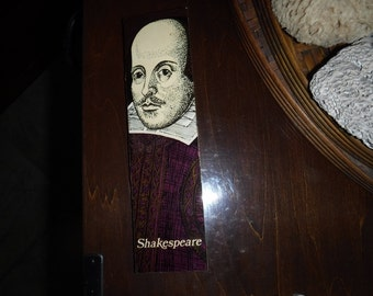 "Vintage Matchbook 8"" Shakespeare by Kailer/ Lowndes-Venture Matches"