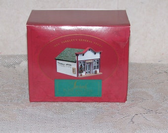 Hallmark Keepsake Mrs. Parkley's General Store - Sarah Plain and Tall