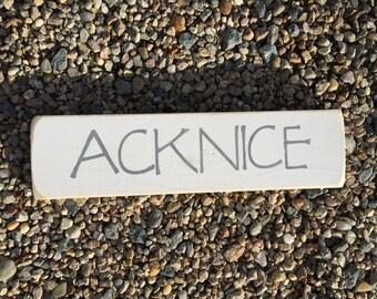 Nantucket ACK Sign