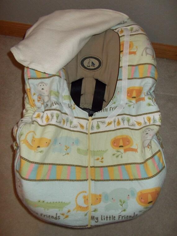 gender neutral baby infant boy or girl car seat cover my. Black Bedroom Furniture Sets. Home Design Ideas