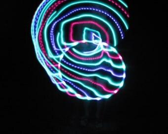 Bali Blossoms LED Hoop