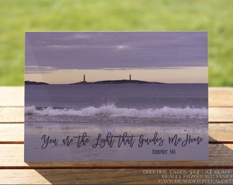 """Rockport MA Greeting Card 