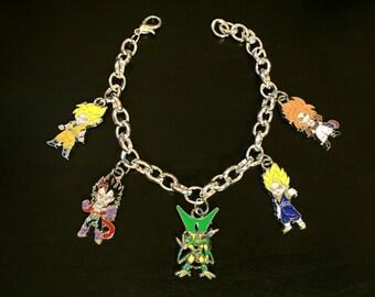 Dragon Ball Z Charm Bracelet